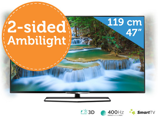philips 47 inch 3d full hd led tv met tweezijdig ambilight internet 39 s best online offer daily. Black Bedroom Furniture Sets. Home Design Ideas