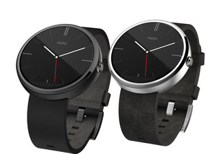 Moto 360 Android smart watch!