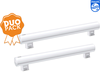 2x Philips LED rechte buis