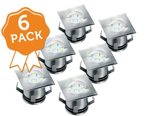 6er pack ranex bodenspots eckig internet 39 s best online offer daily. Black Bedroom Furniture Sets. Home Design Ideas