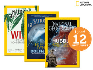 Jaarabonnement op National Geographic Magazine