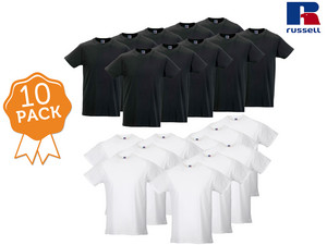 10-pack Russell T-shirts
