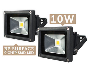 Duopack 10W Quintezz floodlights