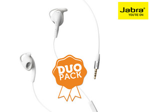 Jabra Active sports headset duo-pack