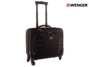 "Wenger 17"" luxe laptoptrolley"