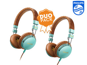 2x Philips On-Ear-Kopfhörer