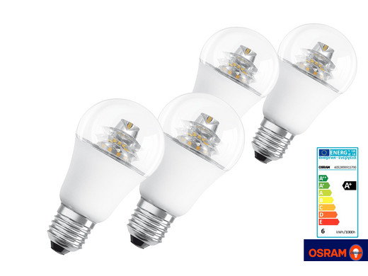 4er pack osram dimmbare led lampen internet 39 s best online offer daily. Black Bedroom Furniture Sets. Home Design Ideas