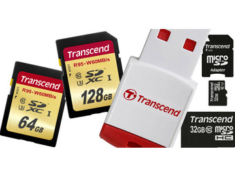 Transcend Flash Sale