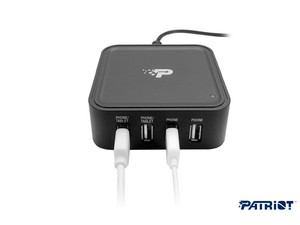 Patriot 4 poorts USB-oplaadstation