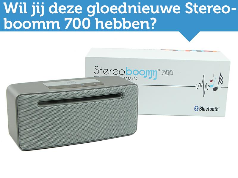 Testers gezocht! Test jij de nieuwe Stereoboomm 700?
