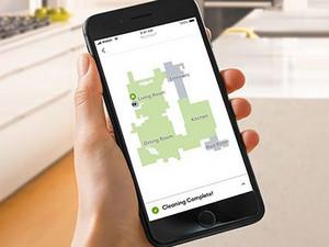 Bedienen op afstand kan via de iRobot HOME app
